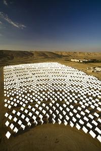 """שדה המראות התרמו סולארי - צילום: יח""""צ ברייט-סורס"""