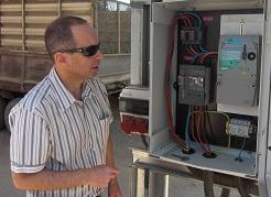 """אורי גנני, סמנכ""""ל חברת ענבר אנרגיה סולארית - צילום: יאיר כחל"""