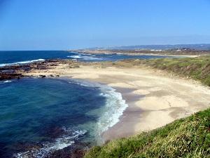 חוף דור, עליו התכוונו להקים את חוות הגז - צילום: ארנון מעוז
