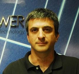 """אלון תמרי, מנכ""""ל חברת סולארפאוור - צילום: ארנון מעוז"""