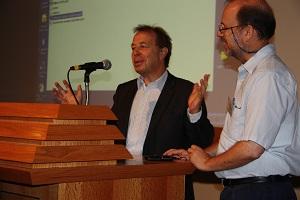 מר  Cédric Philibert , יועץ בכיר לאנרגיה מתחדשת במועצה הלאומית לאנרגיה - צילום: ארנון מעוז