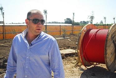 דוד וייסברג, מהנדס ראשי בחברת SBY איטליה - צילום: ארנון מעוז