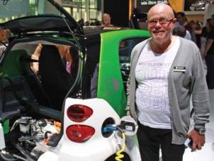 פיט מוס, מנהל המוצר של רכב הסמארט החשמלי, צילום: חגי אנסון