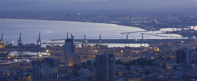 מפרץ חיפה צילום: שאטרסטוק