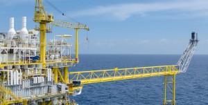 אסדת קידוח נפט בים. גז טבעי. צילום: שאטרסטוק