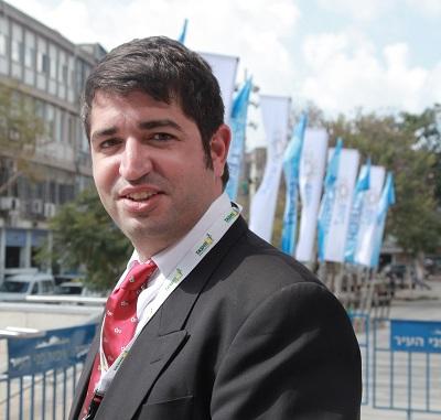 """ארנון מעוז, מנכ""""ל """"תשתיות"""" בוועידת GASTECH ISRAEL 2014. צילום: גונן גלין"""