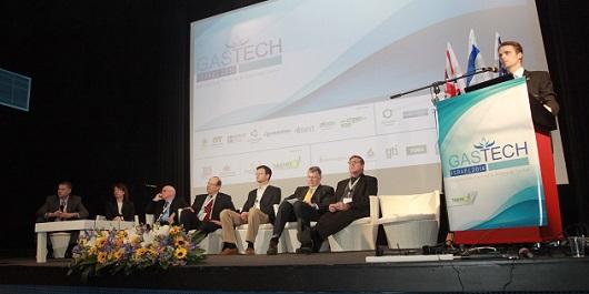פאנל מומחים בינלאומיים. ועידת GASTECH ISRAEL 2014. צילום: גונן גלין