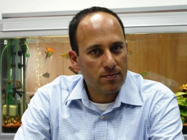 """אורן אהרונסון, מנכ""""ל סימנס ישראל לשעבר. תצלום: יח""""צ"""