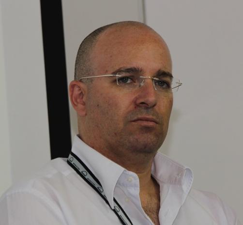"""עידו אלישיב, סמנכ""""ל פיתוח עסקי ב""""טלמניע"""", ועידת תעשיית העתיד הרביעית. צילום: תומר קזיניץ"""