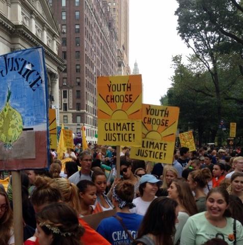 Climate Change March בניו יורק