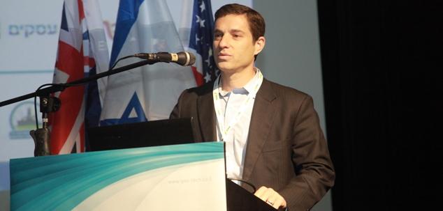 """ביני בנימין זומר מנכ""""ל נובל אנרג'י ישראל noble energy גזטק 2014 צילום: גונן גלין"""