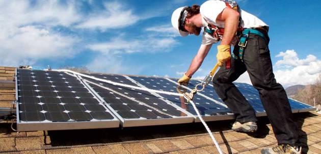 אנרגיה סולארית פוטו-וולטאית פוטו-וולטאי מתקין סולארי