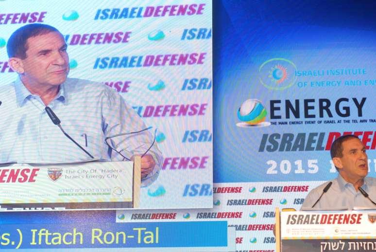"""יפתח רון טל, יו""""ר חברת החשמל. כנס ישראל דיפנס 2014. צילום: אדיר פטל"""