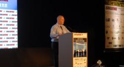 """יו""""ר פורום יצרני החשמל הפרטיים, איתי אייגס. כנס ישראל דיפנס 2014. צילום: אדיר פטל"""