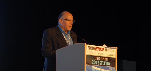 פרופ' עוזי ארד, נשיא הכנס. כנס ישראל דיפנס 2014. צילום: אדיר פטל