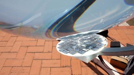 כדור העדשה לאנרגיה סולארית, בטא.ריי