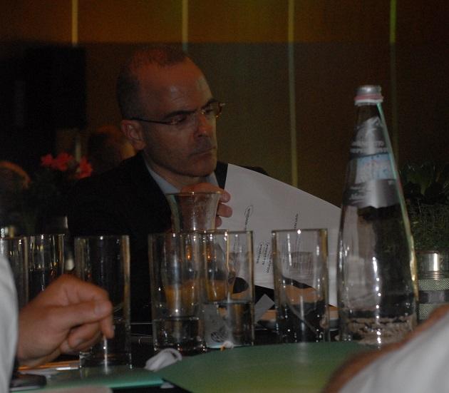 דיוויד גילה, הממונה על ההיגבלים העסקיים. הוועידה הלאומית ה-7 לאנרגיה. צילום: אדיר פטל, תשתיות