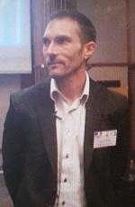 "Lionel Corre, יועץ כלכלי לשגרירות צרפת בישראל. כנס ""אתגרים בפיתוח של פרויקטי רוח בישראל"""