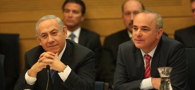 ראש הממשלה בנימין נתניהו ושר האנרגיה יובל שטייניץ בוועדת הכלכלה. צילום: דוברות הכנסת