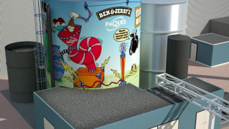 בקרוב: מפעל הולנדי של Ben & Jerry's יופעל על ידי אנרגיית הגלידה