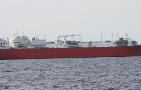 הים סוער  – אוניית הגז הטבעי הנוזלי נותקה מהמצוף הימי
