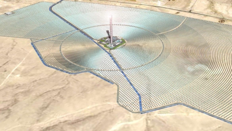 ברייטסורס תקים תחנת כוח תרמו-סולארית ענקית בסין