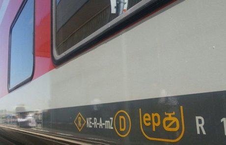 קרונות ראשונים המותאמים להפעלה חשמלית נמסרו לרכבת ישראל