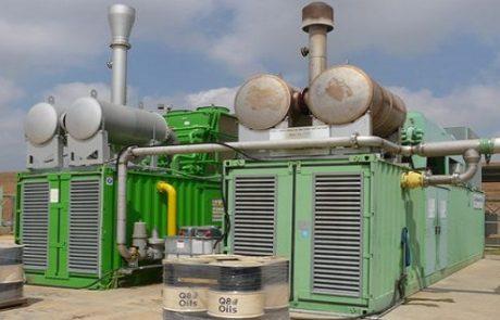 תחנת הכוח הפרטית של קיבוץ עברון מספקת כ-80% מתצרוכת החשמל של הקיבוץ