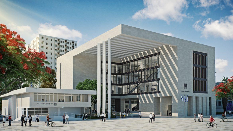 בית המשפט בחדרה יהיה בניין מאופס אנרגיה