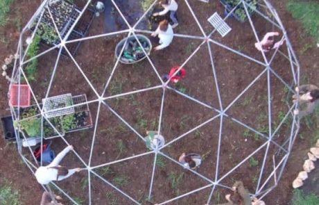 הגן הסולארי בבנימינה, עבר למיקום חדש גדול, מרווח וירוק יותר!