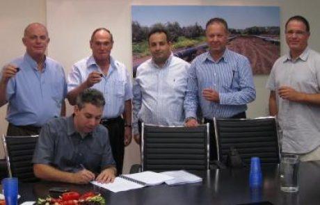 """דוראד ונתג""""ז חתמו על הסכם הולכת גז ל-15 שנה"""
