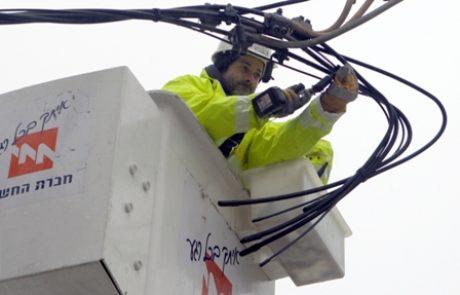 חברת החשמל נערכת לניתוקים בעקבות התראות מזג אוויר חריג