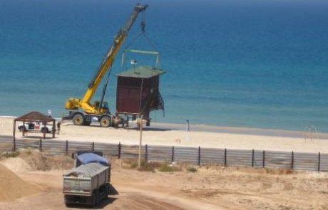 """מוסדות התכנון על הבנייה הלא חוקית בחוף אשדוד: """"הקיוסק הגדול בעולם"""" ייהרס"""