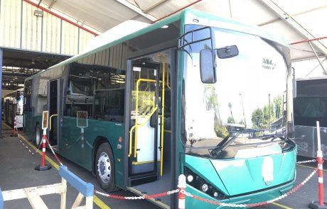 בקרוב יושק האוטובוס החשמלי הישראלי הראשון