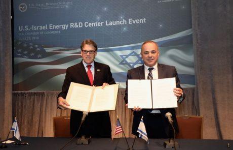 """כ-250 מיליון שקל יושקעו במחקר ופיתוח אנרגיה משותף לישראל ולארה""""ב"""