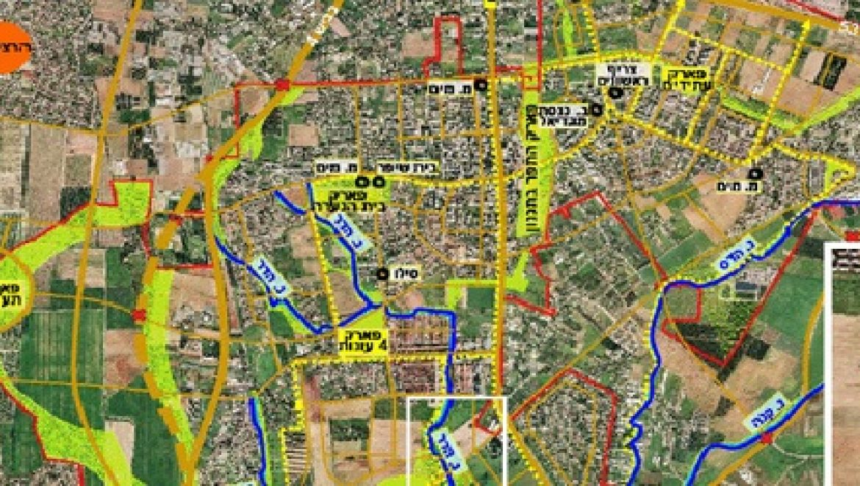 הועדה המחוזית לתכנון ובנייה אישרה הזרמת מי נחלים בשטח העיר הוד השרון