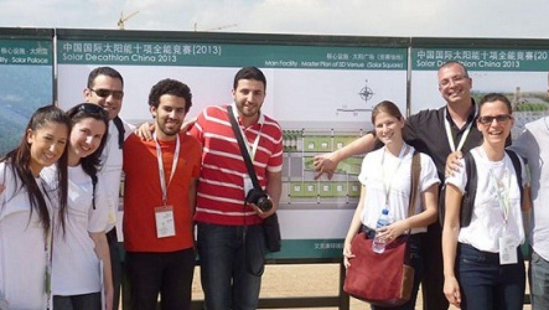 נבחרת ישראל בבנייה ירוקה קוצרת הצלחה בסין