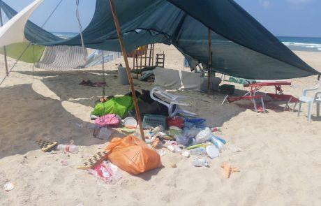 ממדד חוף נקי של המשרד להגנת הסביבה עולה כי כ-63% מהחופים הוגדרו כנקיים, לעומת 74% במדד הקודם ו-59% בתקופה המקבילה