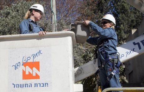 עובדי חברת החשמל במרחב הצפון משבשים משעות הבוקר את העבודה במתקני החברה