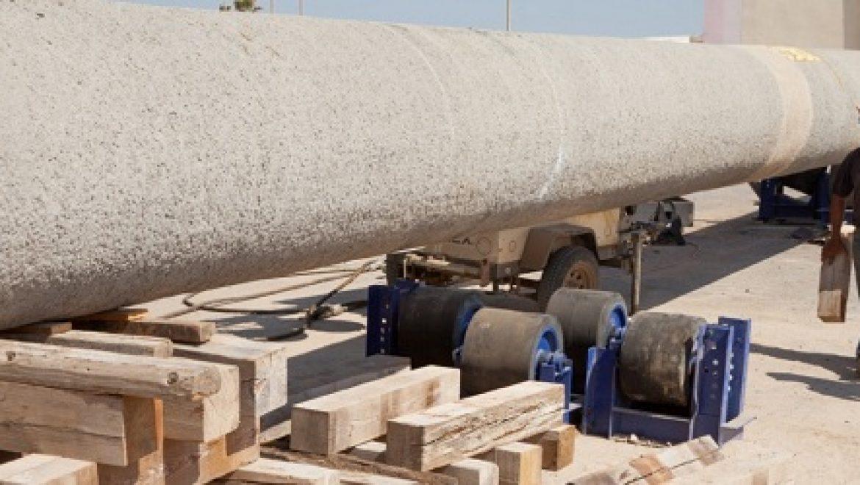 """הושק צינור הנפט החדש שיחובר לבז""""ן בעלות של עשרות מליוני ש""""ח"""