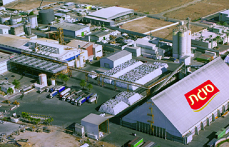 הושלם פרויקט הגז הטבעי במפעל סוגת בקריית גת