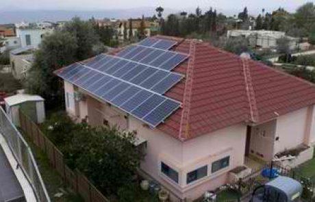 שימוש באנרגיה סולארית לטובת ייצור חשמל לשימוש ביתי מתגלה כאופציה משתלמת