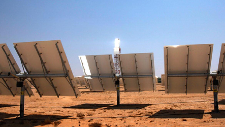 ברייטסורס אנרג'י ואלסטום הגישו הצעה משותפת לתחנת כח תרמו-סולארית באשלים