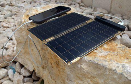המטען הסולארי של Solar Paper לא יוכל להחליף את סוללת הגיבוי שלכם.