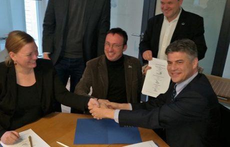 ארגוני הסביבה של ישראל וגרמניה חתמו על שיתוף פעולה