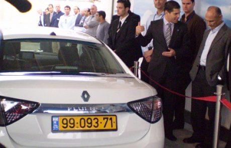 בטר פלייס השיקה תחנה ראשונה בישראל להחלפת סוללה למכונית חשמלית