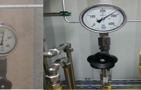 הסתיימו בהצלחה בדיקות הלחץ בתחנת הפריקה של CNG בפניציה
