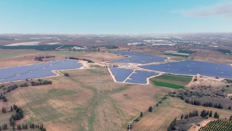 נחנך השדה הסולארי ה-11 של חברת EDF-EN בפארק סולארי זמורות