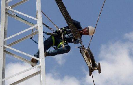 חברת החשמל מתרגלת הקמה מהירה של קווי מתח עליון חלופיים בחירום