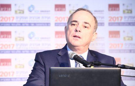 """השר יובל שטייניץ בוועידת ישראל לעסקים של """"גלובס"""": """"אם תעשיות פרטיות יתנו גז יותר בזול לחברת החשמל, המחיר של החשמל ירד אוטומטית"""""""
